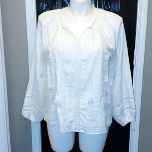 Hippie Peasant top New with tags
